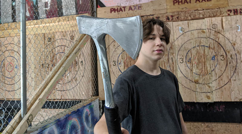 Throwing axes in Provo