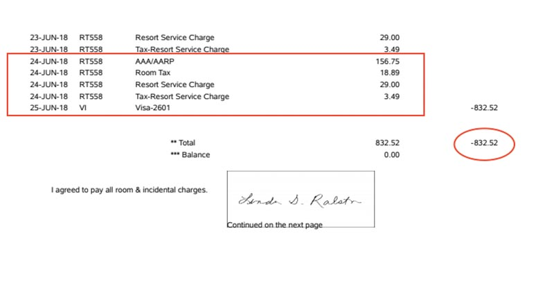 Will this hotel billing error ever be corrected?
