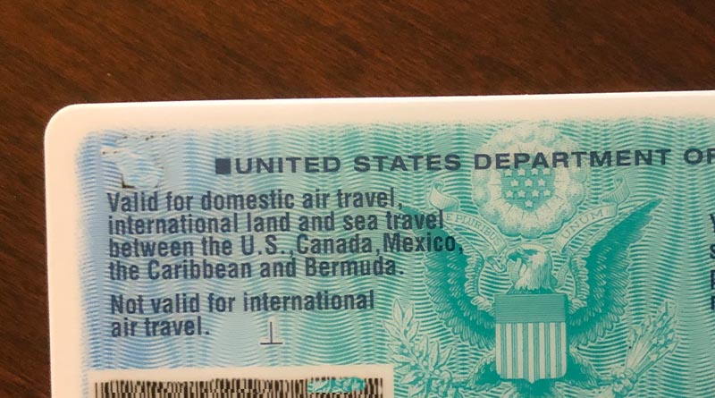 KidThe back of the passport card makes that clear -- you can't fly internationally with a passport card