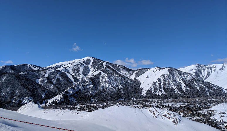 Sun Valley in March 2018.