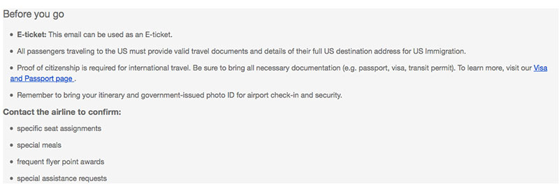 His missing travel documents are not the result of an Expedia mistake